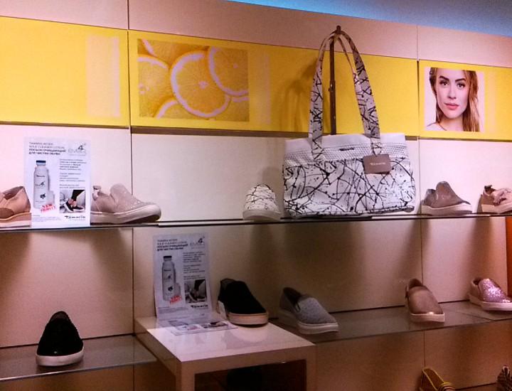 Хиты продаж на презентации продукции магазина LADYSTEPBYSTEP в офисе ООО «Вортманн Восток», в г. Краснодар